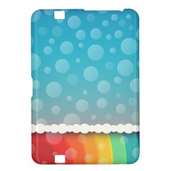 Rainbow Background Border Colorful Kindle Fire Hd 8 9