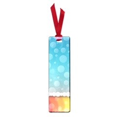 Rainbow Background Border Colorful Small Book Marks