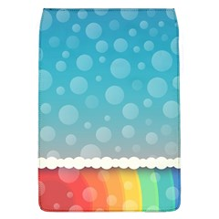 Rainbow Background Border Colorful Flap Covers (L)