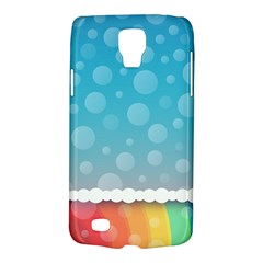 Rainbow Background Border Colorful Galaxy S4 Active