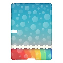 Rainbow Background Border Colorful Samsung Galaxy Tab S (10 5 ) Hardshell Case