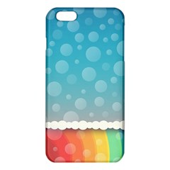 Rainbow Background Border Colorful Iphone 6 Plus/6s Plus Tpu Case