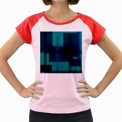 Boxes Abstractly Women s Cap Sleeve T-Shirt
