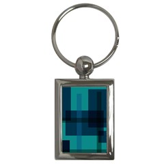 Boxes Abstractly Key Chains (Rectangle)