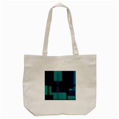 Boxes Abstractly Tote Bag (Cream)