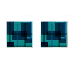 Boxes Abstractly Cufflinks (Square)
