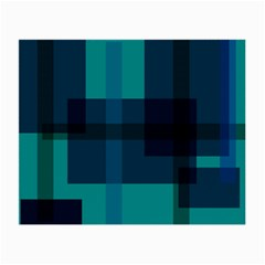 Boxes Abstractly Small Glasses Cloth (2 Side)