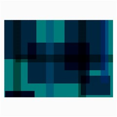 Boxes Abstractly Large Glasses Cloth (2-Side)