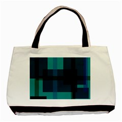 Boxes Abstractly Basic Tote Bag (two Sides)