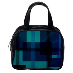 Boxes Abstractly Classic Handbags (One Side)