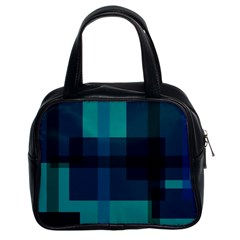 Boxes Abstractly Classic Handbags (2 Sides)