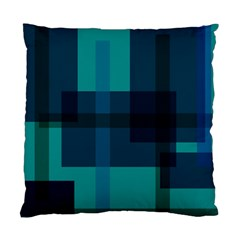 Boxes Abstractly Standard Cushion Case (one Side)