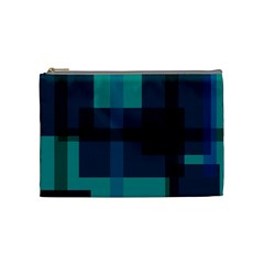 Boxes Abstractly Cosmetic Bag (medium)