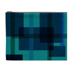 Boxes Abstractly Cosmetic Bag (xl)