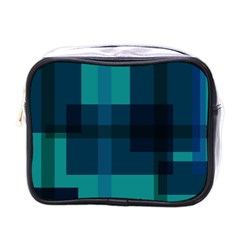 Boxes Abstractly Mini Toiletries Bags