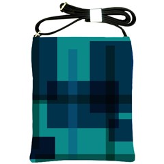 Boxes Abstractly Shoulder Sling Bags