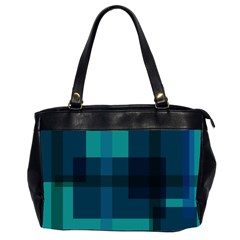 Boxes Abstractly Office Handbags (2 Sides)