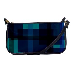 Boxes Abstractly Shoulder Clutch Bags