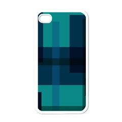 Boxes Abstractly Apple Iphone 4 Case (white)