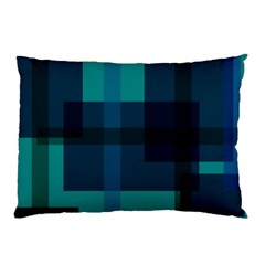 Boxes Abstractly Pillow Case (two Sides)