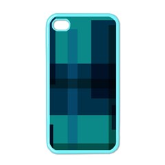 Boxes Abstractly Apple Iphone 4 Case (color)