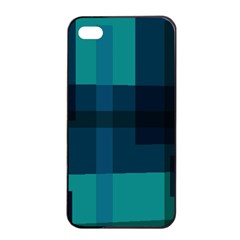 Boxes Abstractly Apple Iphone 4/4s Seamless Case (black)