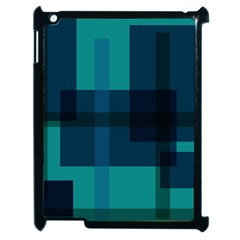 Boxes Abstractly Apple Ipad 2 Case (black)