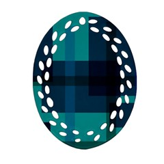 Boxes Abstractly Ornament (oval Filigree)