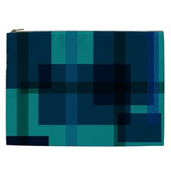Boxes Abstractly Cosmetic Bag (xxl)