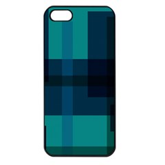 Boxes Abstractly Apple Iphone 5 Seamless Case (black)