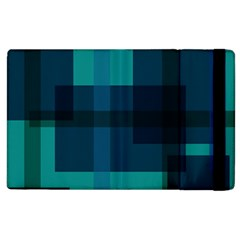 Boxes Abstractly Apple iPad 2 Flip Case