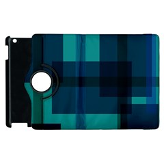 Boxes Abstractly Apple Ipad 3/4 Flip 360 Case