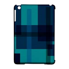 Boxes Abstractly Apple Ipad Mini Hardshell Case (compatible With Smart Cover)