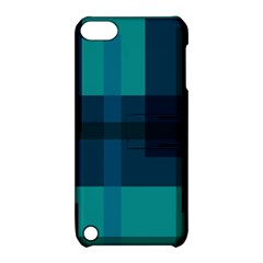 Boxes Abstractly Apple iPod Touch 5 Hardshell Case with Stand