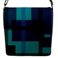 Boxes Abstractly Flap Messenger Bag (S)
