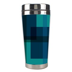 Boxes Abstractly Stainless Steel Travel Tumblers