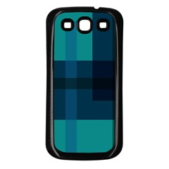 Boxes Abstractly Samsung Galaxy S3 Back Case (black)