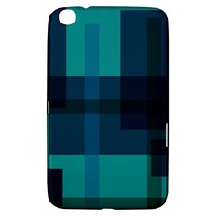 Boxes Abstractly Samsung Galaxy Tab 3 (8 ) T3100 Hardshell Case