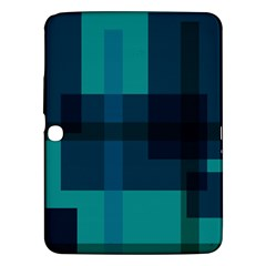 Boxes Abstractly Samsung Galaxy Tab 3 (10.1 ) P5200 Hardshell Case