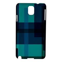 Boxes Abstractly Samsung Galaxy Note 3 N9005 Hardshell Case