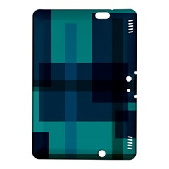 Boxes Abstractly Kindle Fire HDX 8.9  Hardshell Case