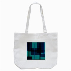 Boxes Abstractly Tote Bag (white)