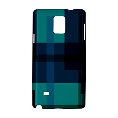 Boxes Abstractly Samsung Galaxy Note 4 Hardshell Case