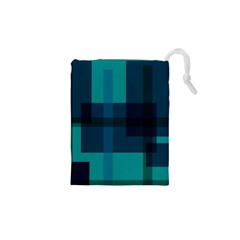 Boxes Abstractly Drawstring Pouches (xs)