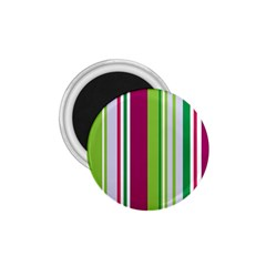 Beautiful Multi Colored Bright Stripes Pattern Wallpaper Background 1 75  Magnets