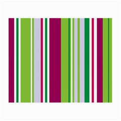 Beautiful Multi Colored Bright Stripes Pattern Wallpaper Background Small Glasses Cloth