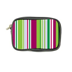 Beautiful Multi Colored Bright Stripes Pattern Wallpaper Background Coin Purse