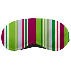 Beautiful Multi Colored Bright Stripes Pattern Wallpaper Background Sleeping Masks
