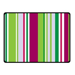 Beautiful Multi Colored Bright Stripes Pattern Wallpaper Background Fleece Blanket (small)