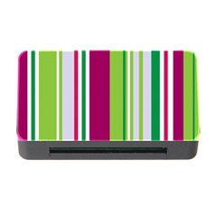 Beautiful Multi Colored Bright Stripes Pattern Wallpaper Background Memory Card Reader With Cf